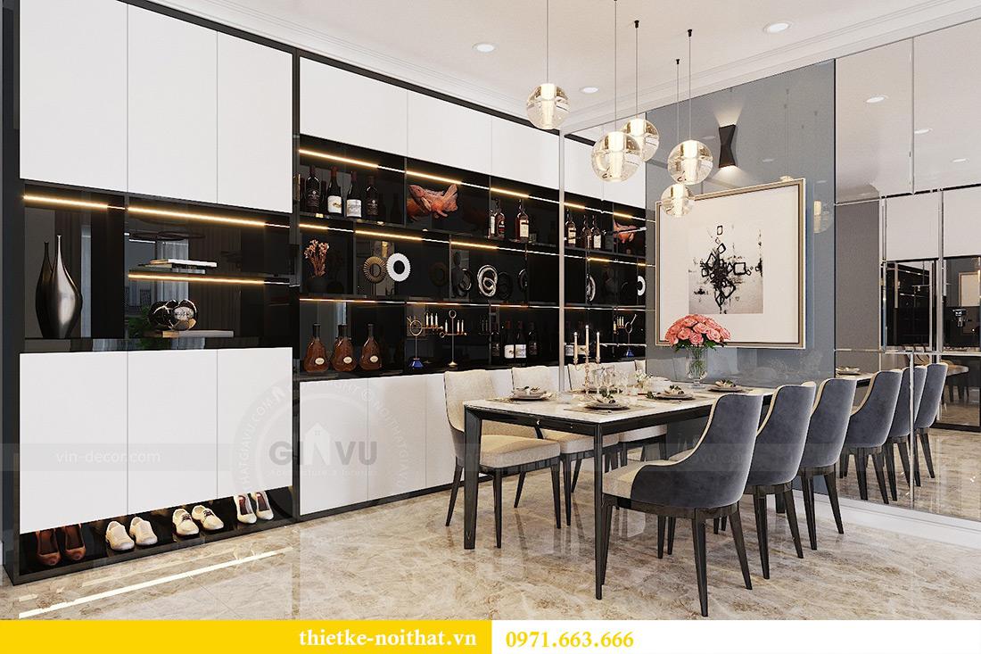 Thiết kế nội thất chung cư căn 3 ngủ tòa C1 08 Dcapitale nhà anh Thông 2