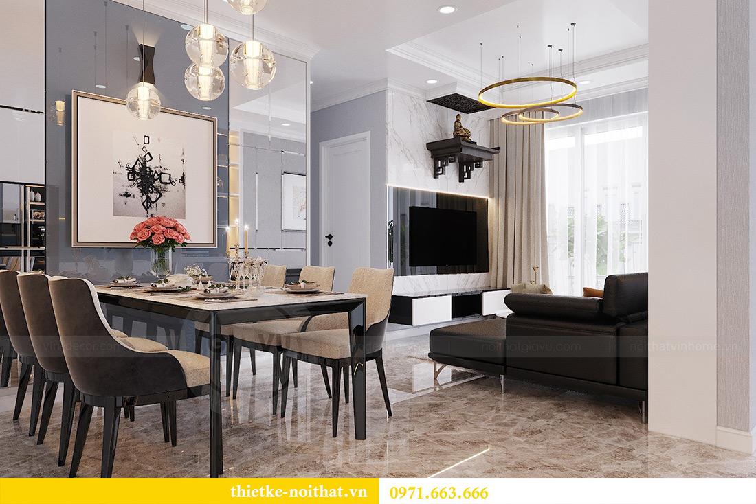Thiết kế nội thất chung cư căn 3 ngủ tòa C1 08 Dcapitale nhà anh Thông 5
