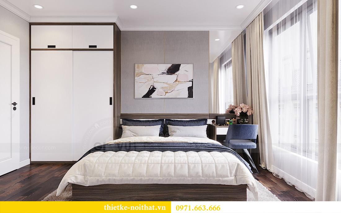 Thiết kế nội thất chung cư căn 3 ngủ tòa C1 08 Dcapitale nhà anh Thông 6