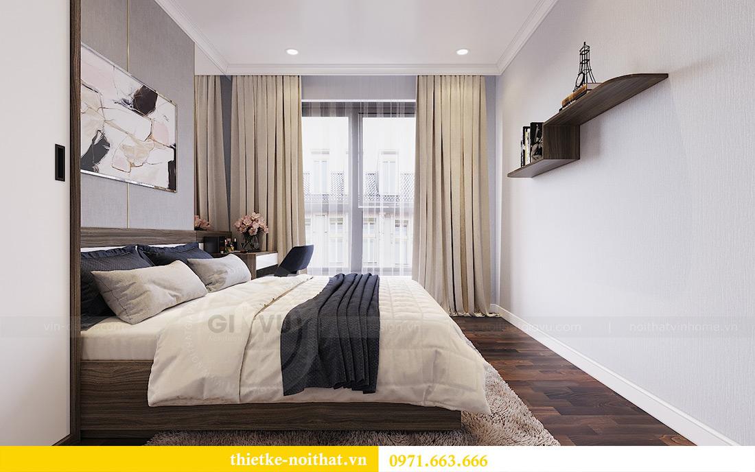 Thiết kế nội thất chung cư căn 3 ngủ tòa C1 08 Dcapitale nhà anh Thông 7