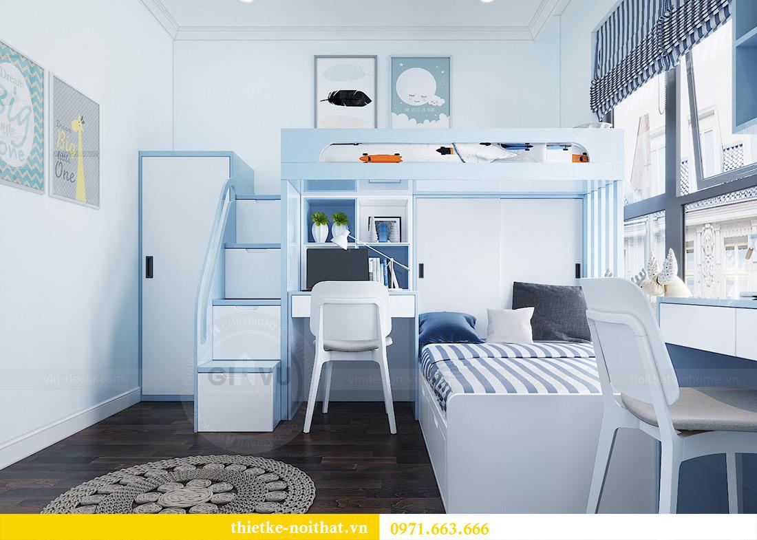 Thiết kế nội thất chung cư căn 3 ngủ tòa C1 08 Dcapitale nhà anh Thông 8