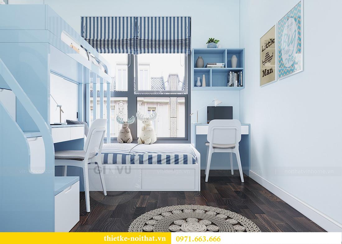 Thiết kế nội thất chung cư căn 3 ngủ tòa C1 08 Dcapitale nhà anh Thông 9
