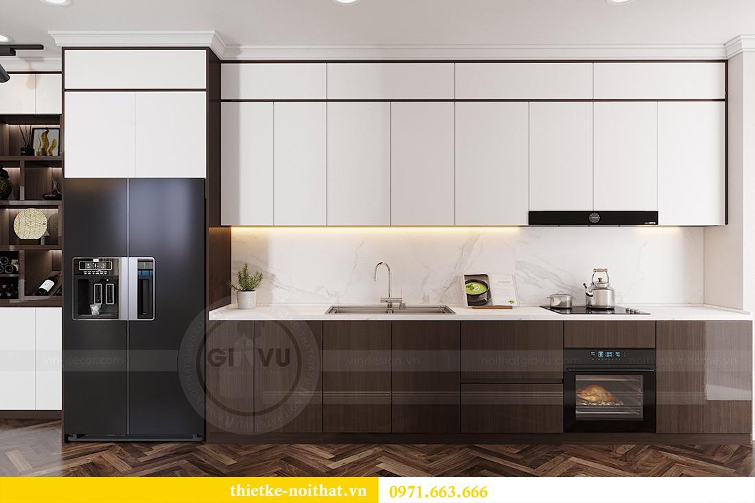 Thiết kế nội thất chung cư Vinhomes Dcapitale căn 01 tòa C6 - chị Liên 2