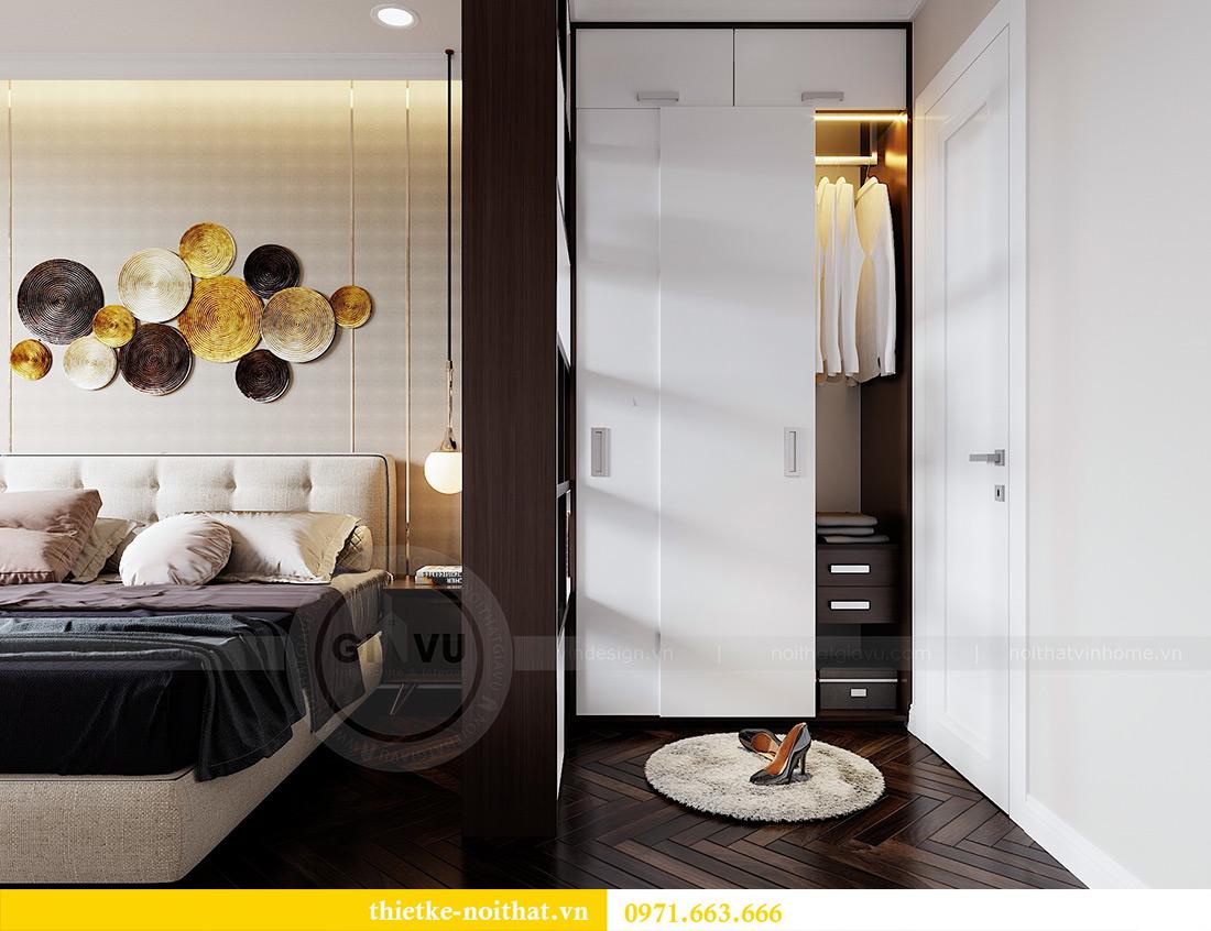 Thiết kế nội thất chung cư Vinhomes Dcapitale căn 01 tòa C6 - chị Liên 6