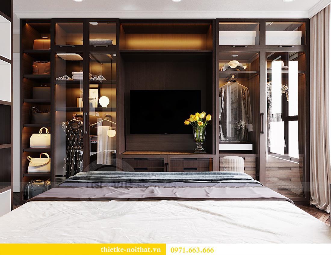 Thiết kế nội thất chung cư Vinhomes Dcapitale căn 01 tòa C6 - chị Liên 7