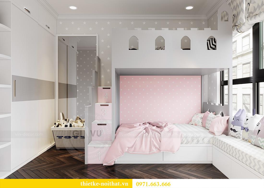 Thiết kế nội thất chung cư Vinhomes Dcapitale căn 01 tòa C6 - chị Liên 9