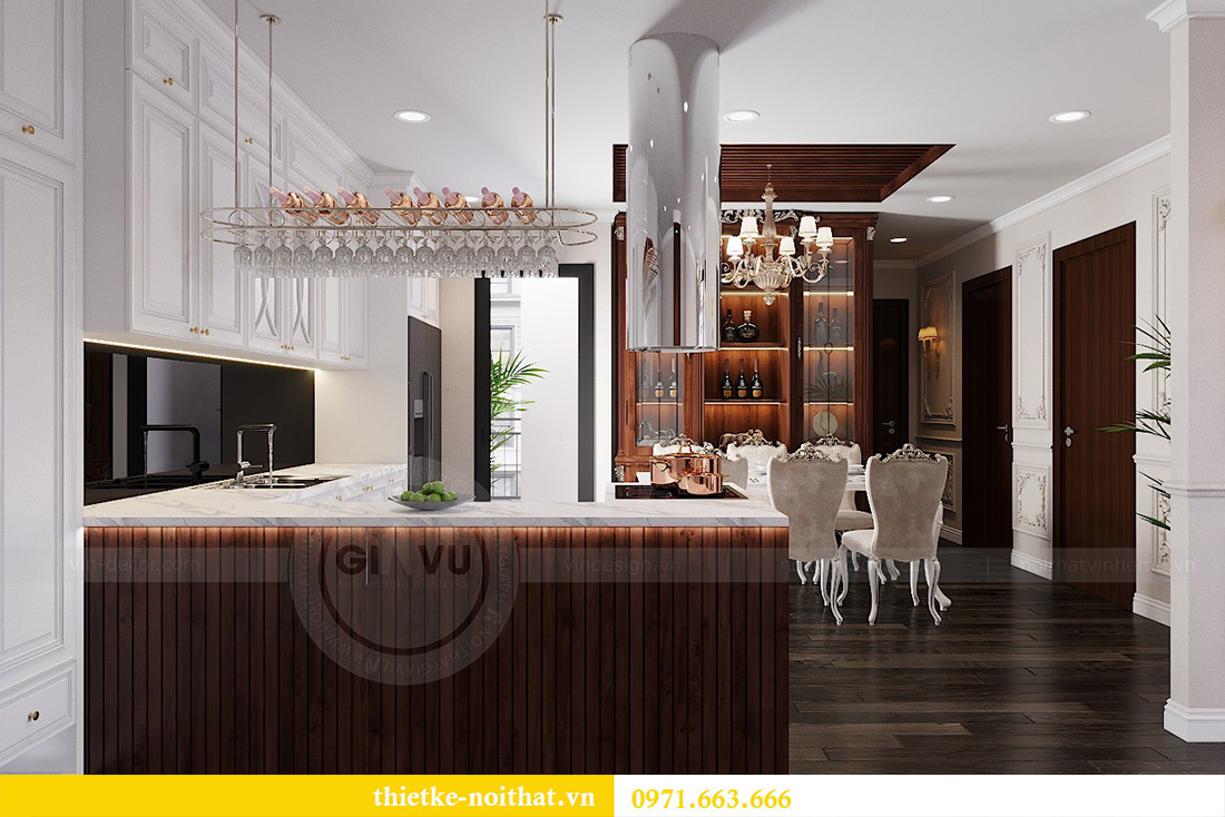 Thiết kế nội thất Vinhomes Green Bay căn 3 ngủ theo nhà chị Hằng 1
