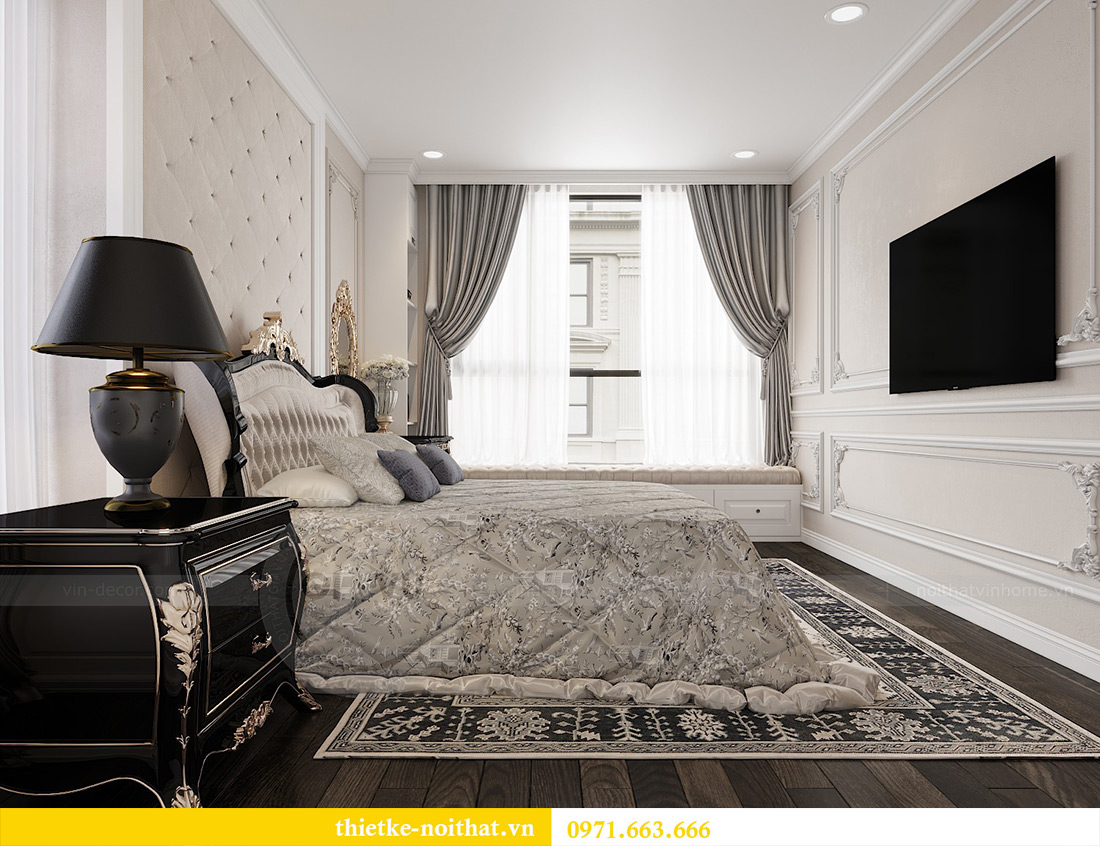 Thiết kế nội thất Vinhomes Green Bay căn 3 ngủ theo nhà chị Hằng 6