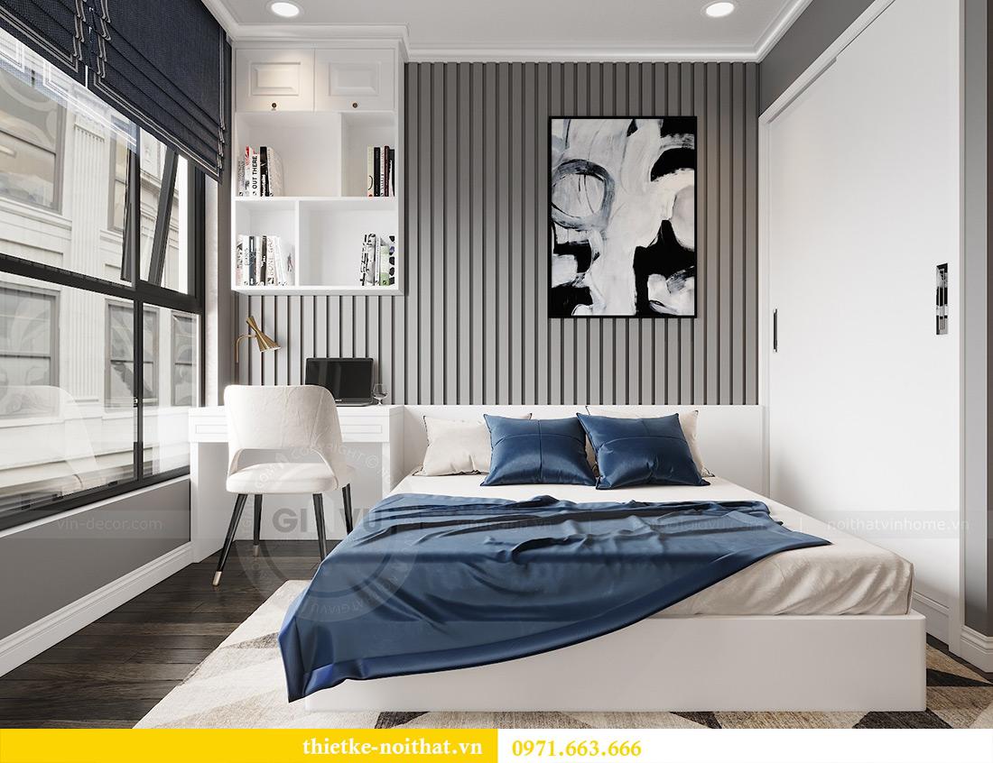 Thiết kế nội thất Vinhomes Green Bay căn 3 ngủ theo nhà chị Hằng 9