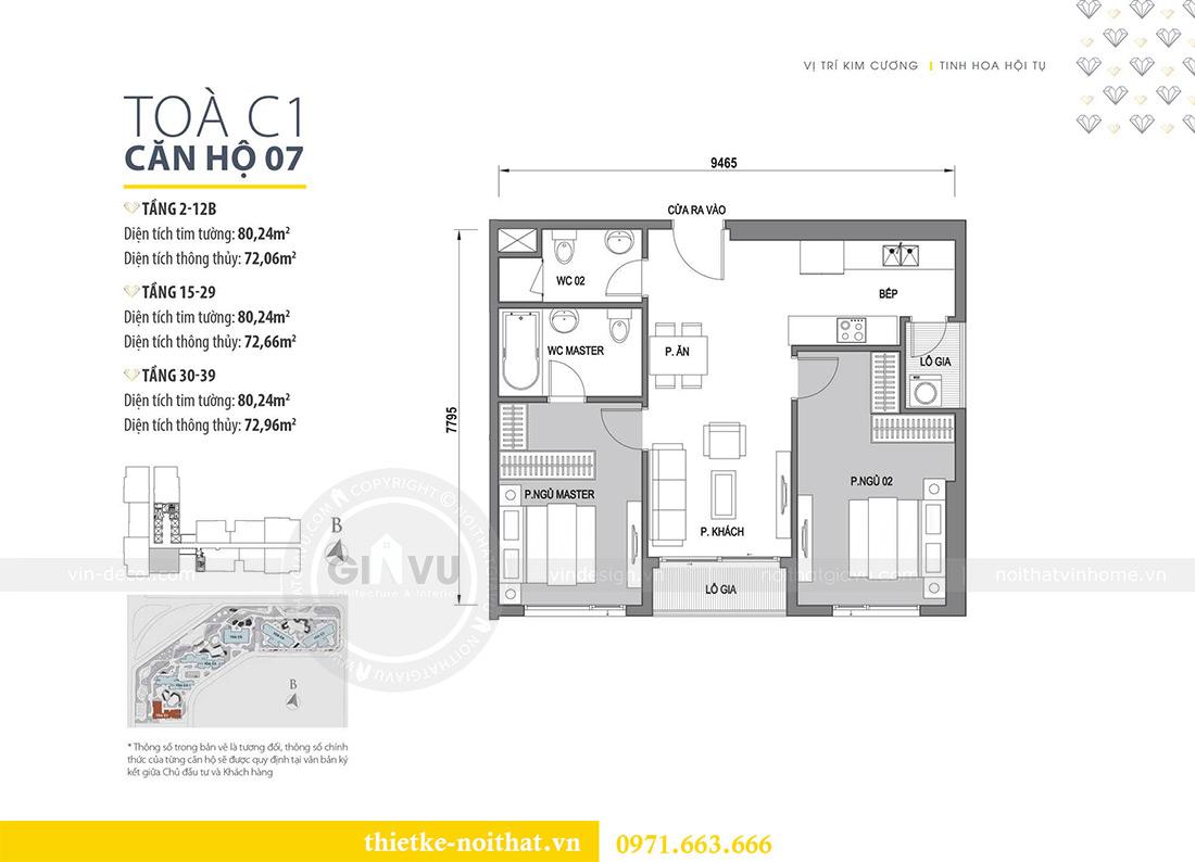 Mặt bằng thiết kế nội thất nhà ở kết hợp văn phòng công ty tại Hà Nội