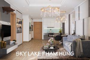 Mau Thiet Ke Noi That Chung Cu Sky Lake Pham Hung Lh 0971663666
