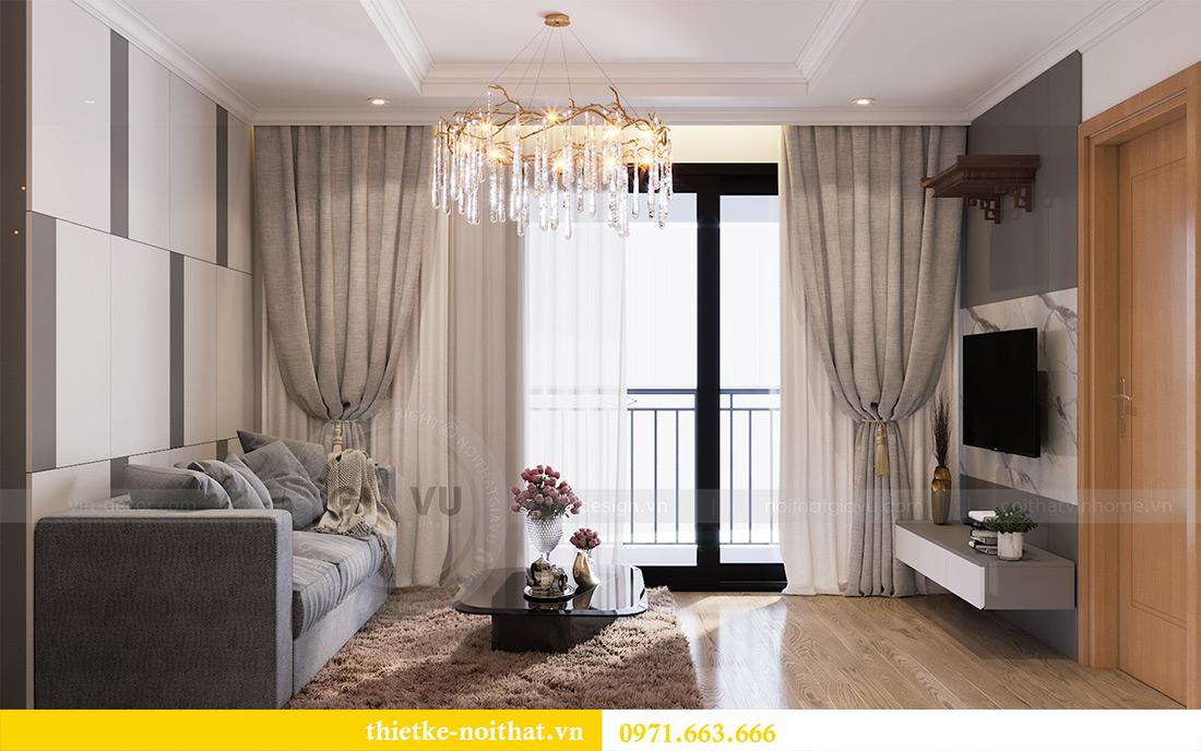 Mẫu thiết kế nội thất chung cư Sky Lake Phạm Hùng - Lh 0971663666 4