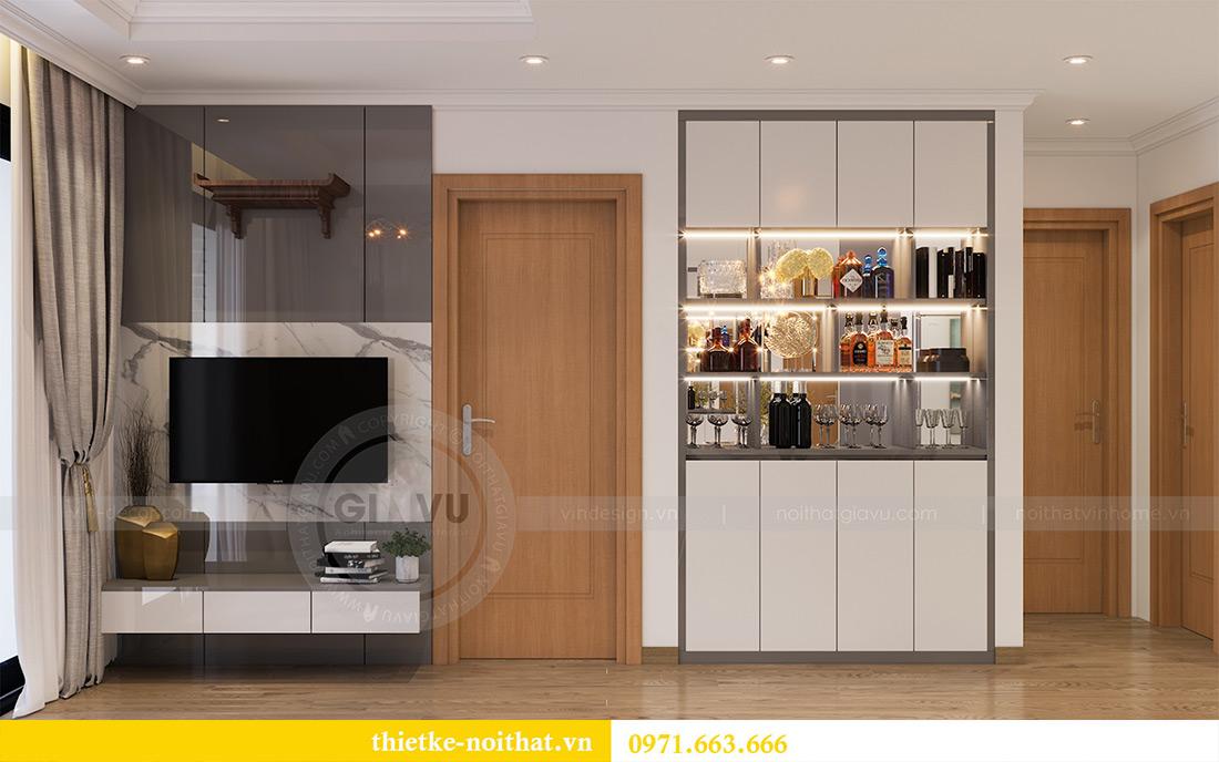 Mẫu thiết kế nội thất chung cư Sky Lake Phạm Hùng - Lh 0971663666 5
