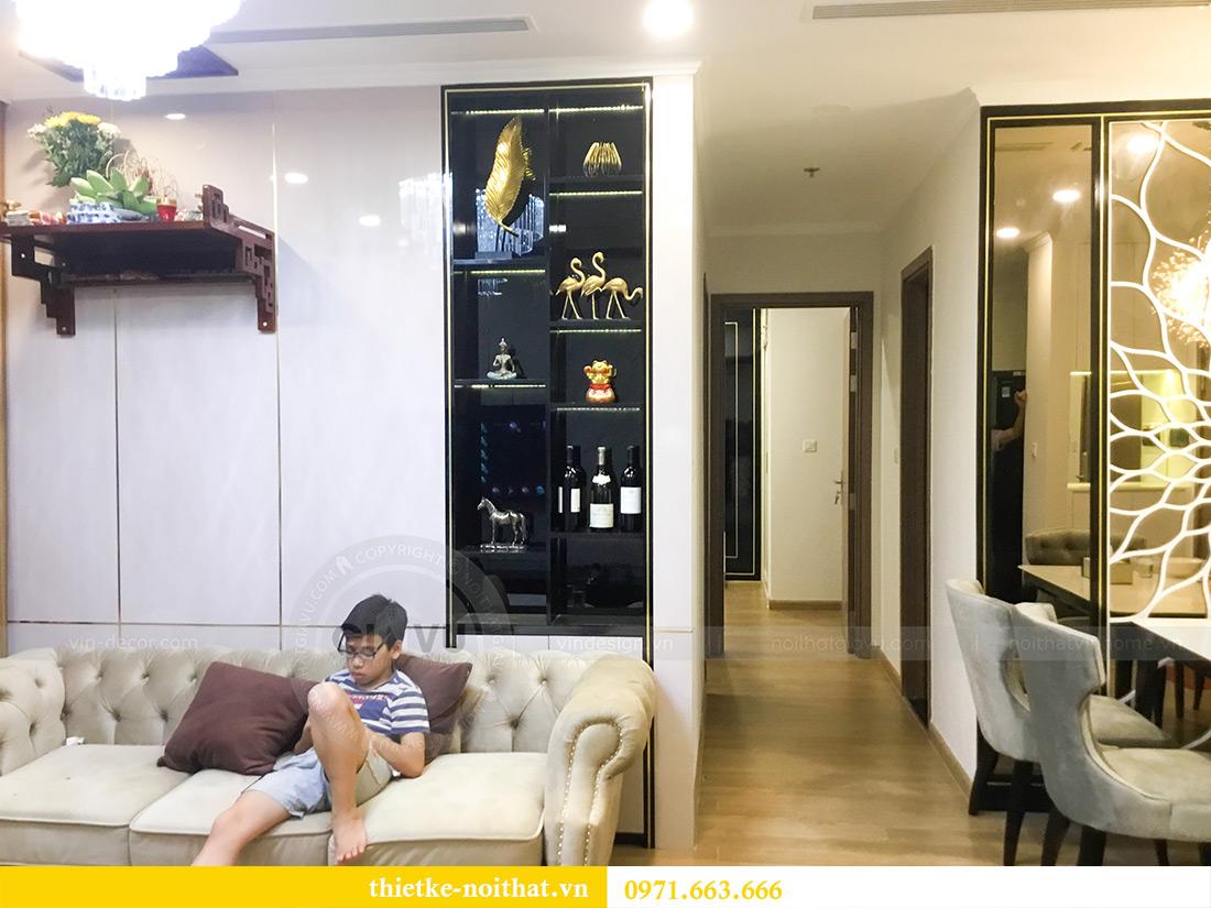 Thi công nội thất căn hộ chung cư Gardenia tòa A2-08 chị Thu Anh 2