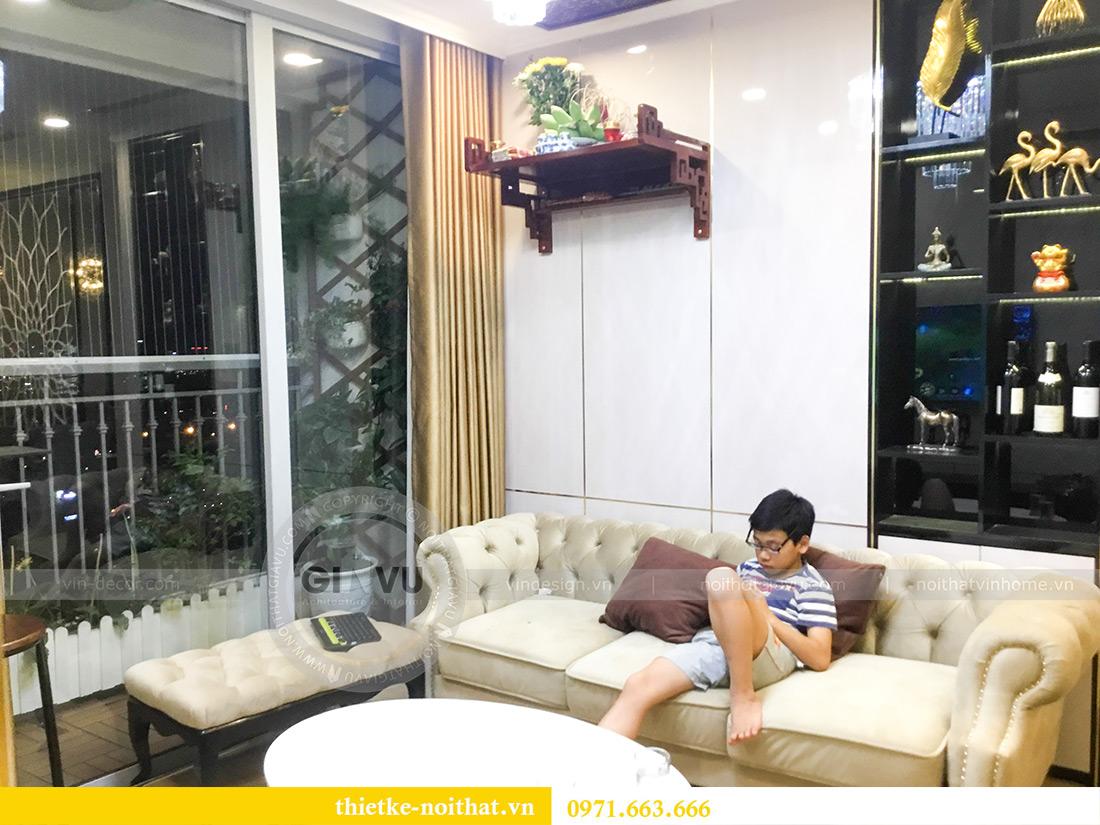 Thi công nội thất căn hộ chung cư Gardenia tòa A2-08 chị Thu Anh 4