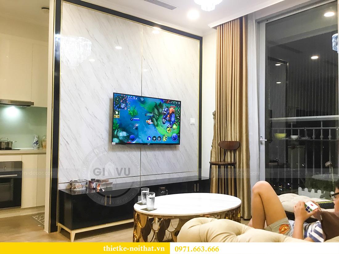 Thi công nội thất căn hộ chung cư Gardenia tòa A2-08 chị Thu Anh 5