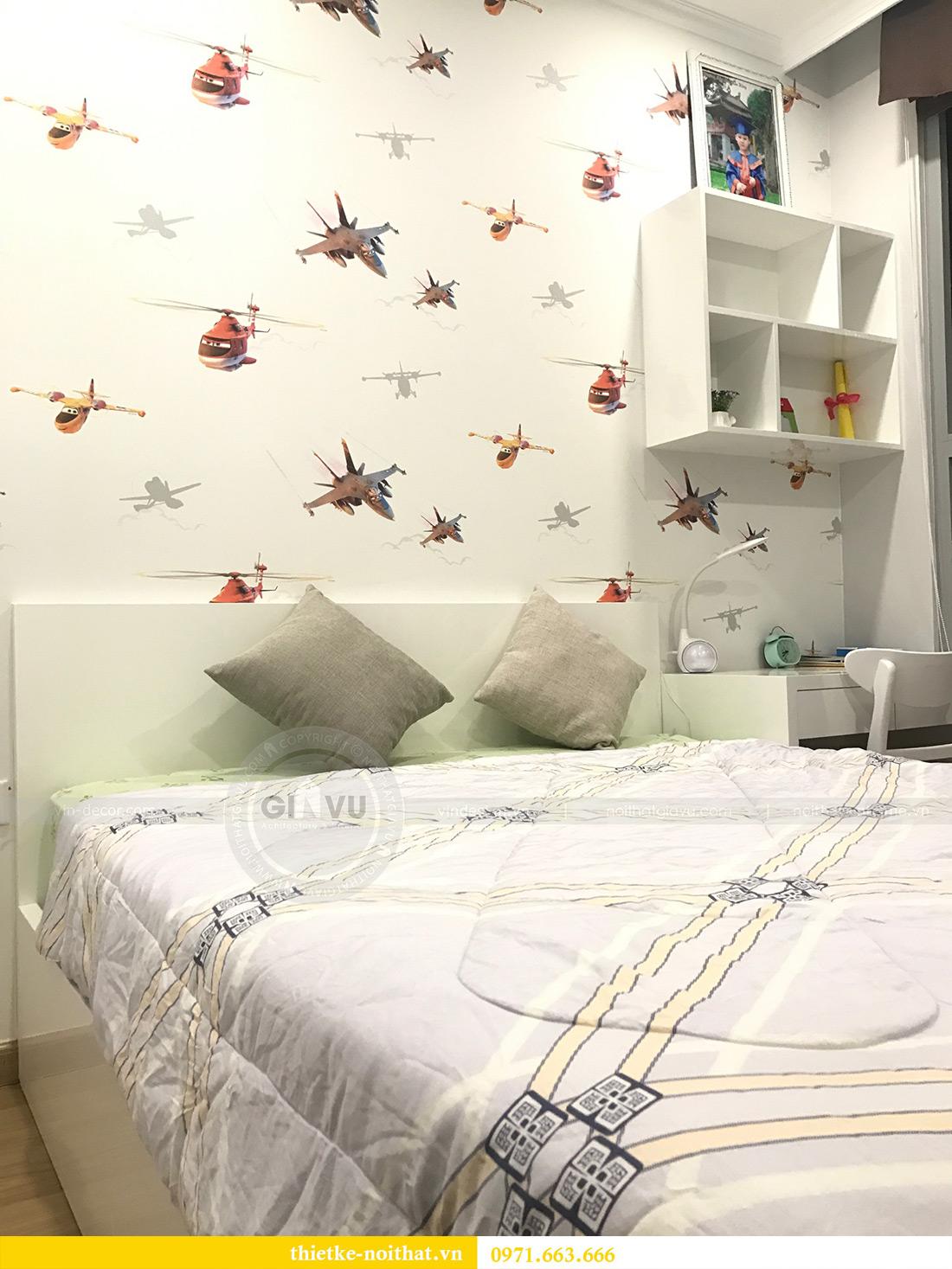 Thi công nội thất chung cư Vinhomes Gardenia tòa A1 căn 03 anh Luân 10