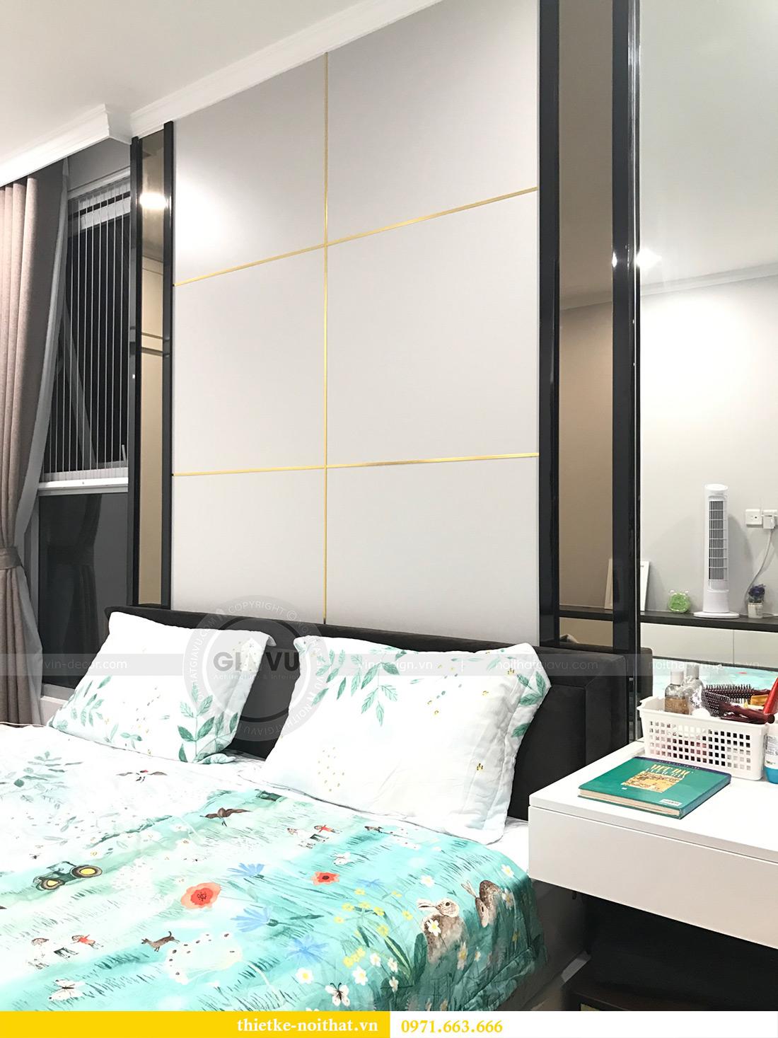 Thi công nội thất chung cư Vinhomes Gardenia tòa A1 căn 03 anh Luân 7