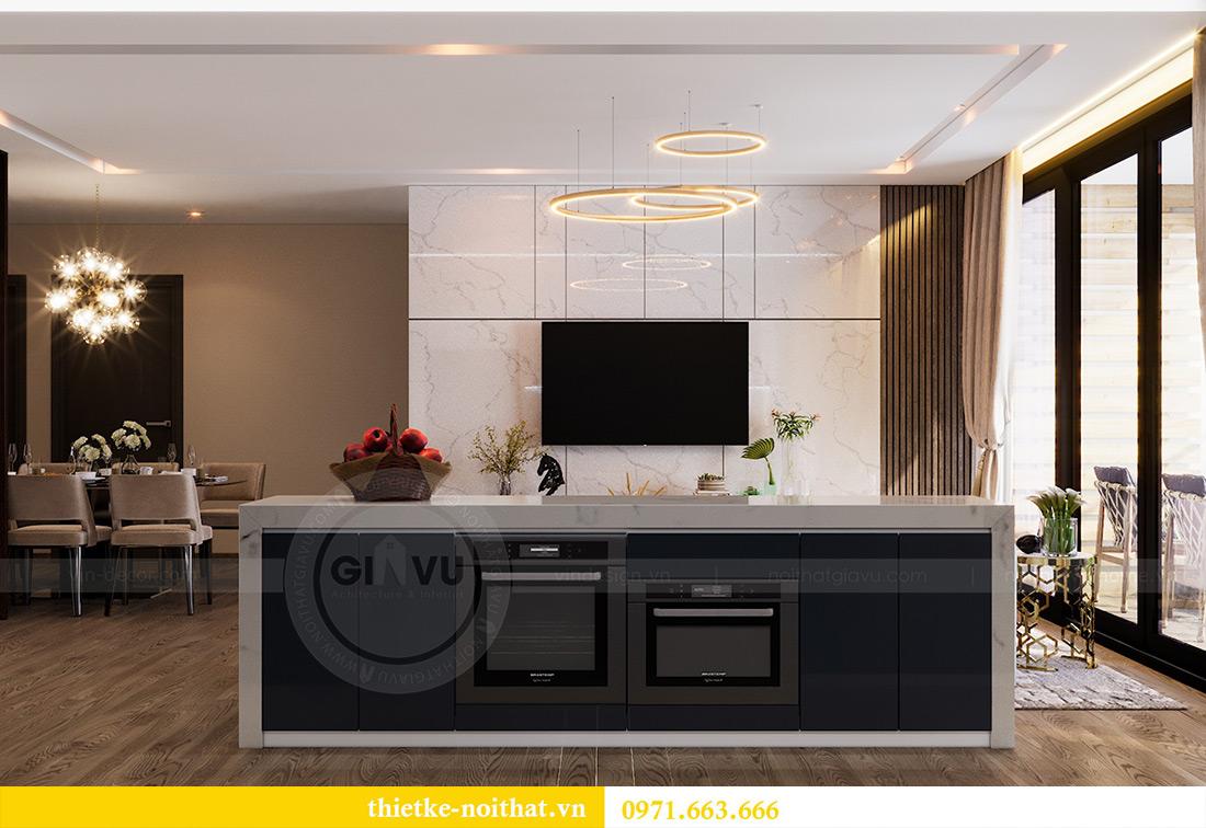 Thiết kế căn hộ 01 tòa M1 chung cư Metropolis nhà chị Trang 3