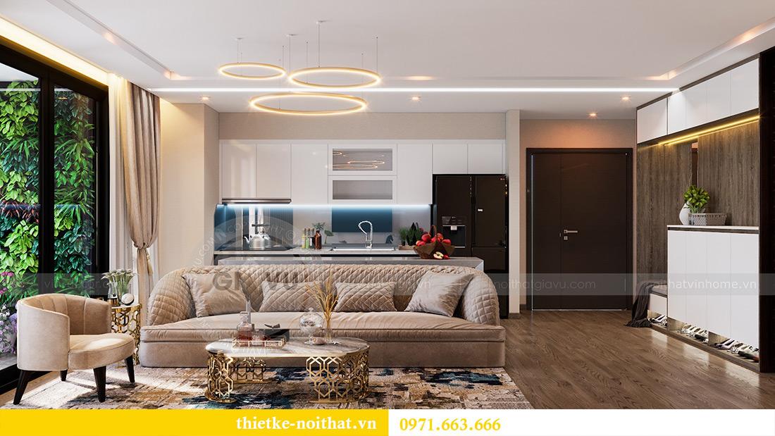 Thiết kế căn hộ 01 tòa M1 chung cư Metropolis nhà chị Trang 4