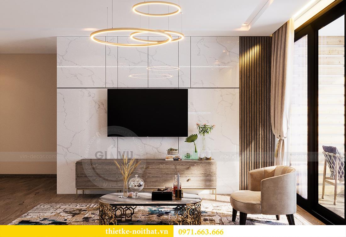 Thiết kế căn hộ 01 tòa M1 chung cư Metropolis nhà chị Trang 5