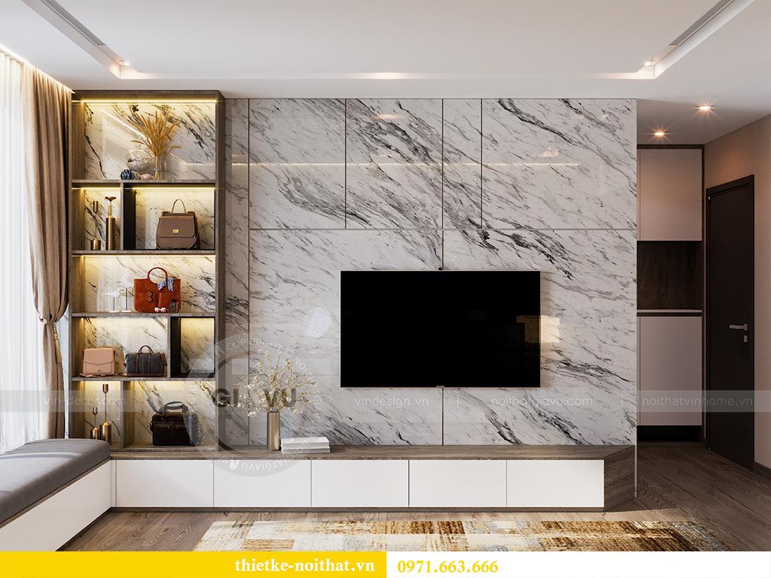 Thiết kế căn hộ 01 tòa M1 chung cư Metropolis nhà chị Trang 7