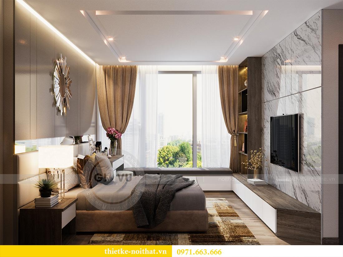 Thiết kế căn hộ 01 tòa M1 chung cư Metropolis nhà chị Trang 8
