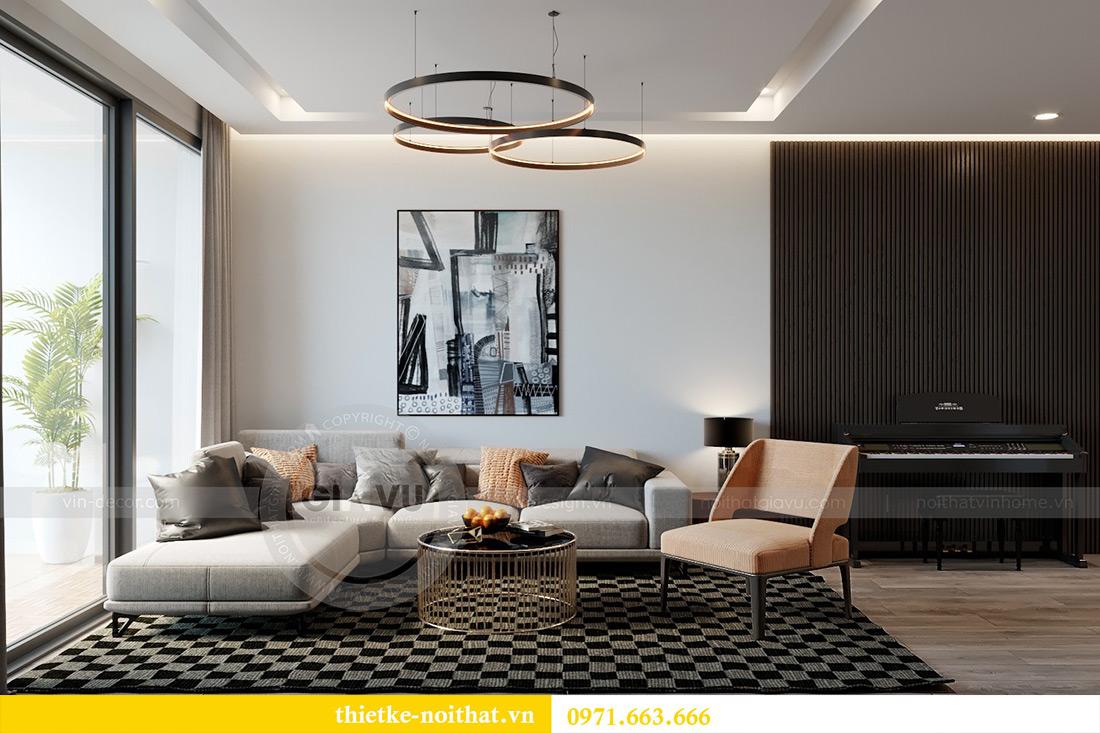 Thiết kế chung cư Vinhomes Metropolis tòa M3 căn 03 - chị Lan Anh 1