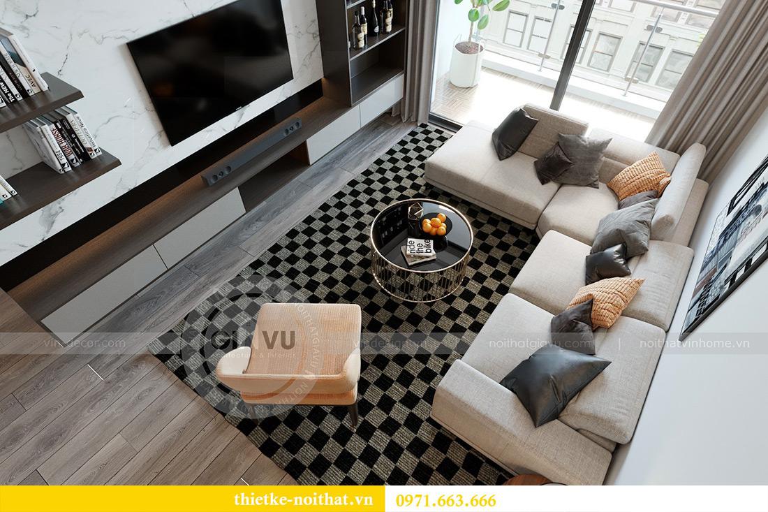 Thiết kế chung cư Vinhomes Metropolis tòa M3 căn 03 - chị Lan Anh 3