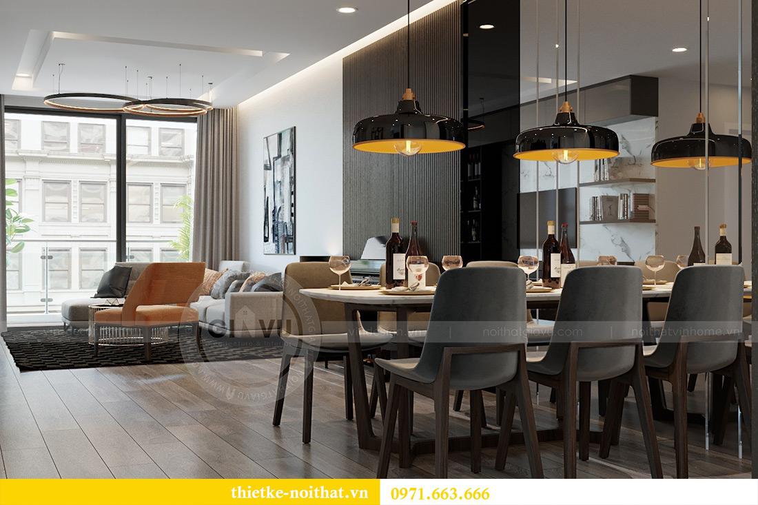 Thiết kế chung cư Vinhomes Metropolis tòa M3 căn 03 - chị Lan Anh 4