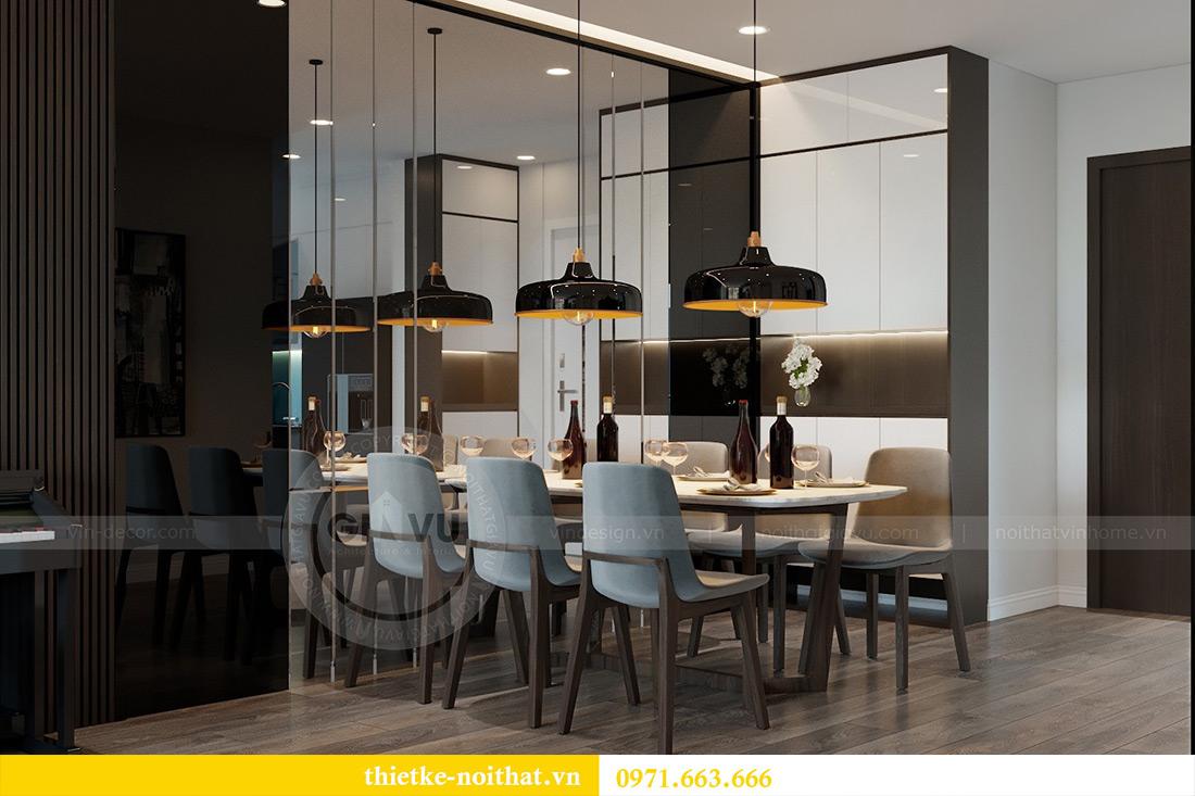 Thiết kế chung cư Vinhomes Metropolis tòa M3 căn 03 - chị Lan Anh 5
