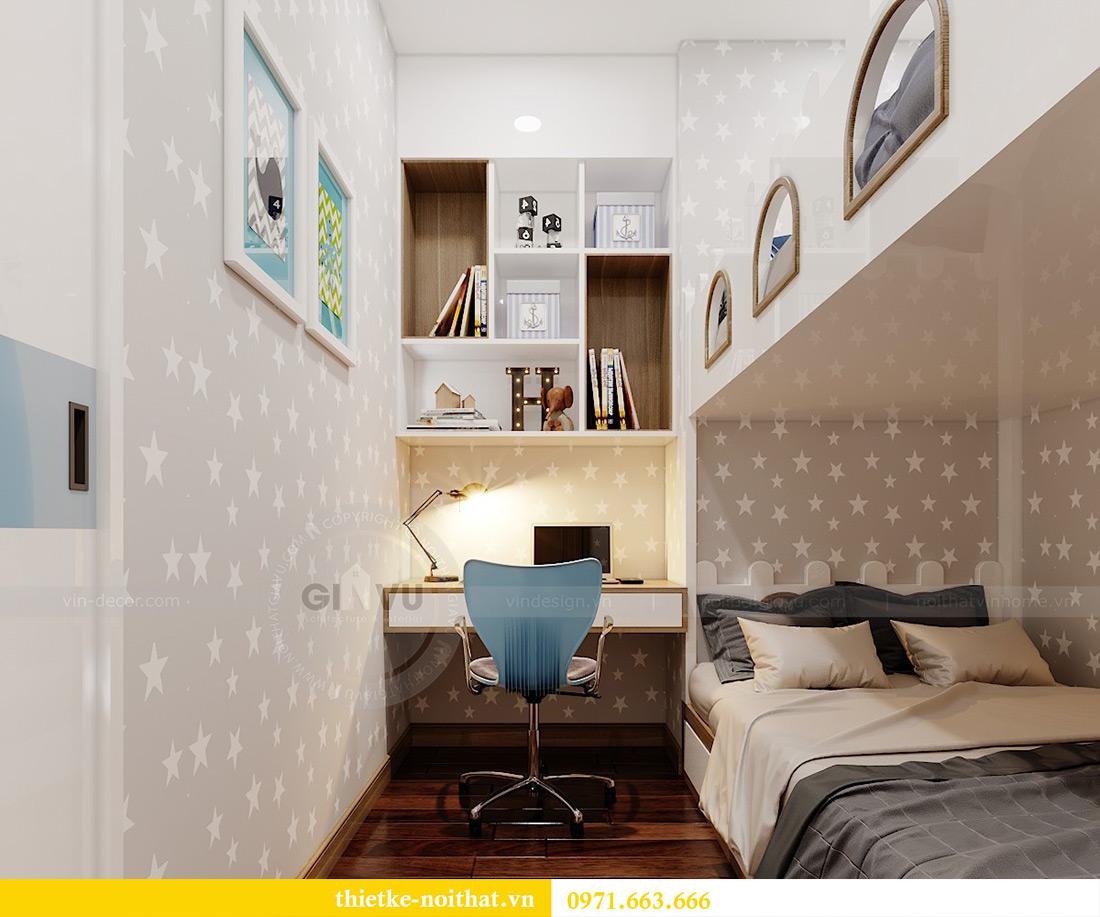 Thiết kế nội thất chung cư 789 Ngoại Giao Đoàn nhà anh Dương 11