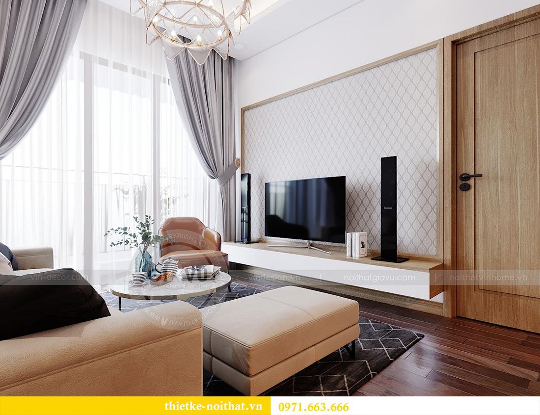 Thiết kế nội thất chung cư 789 Ngoại Giao Đoàn nhà anh Dương 4