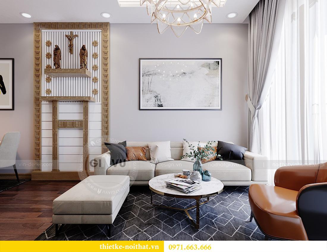 Thiết kế nội thất chung cư 789 Ngoại Giao Đoàn nhà anh Dương 5