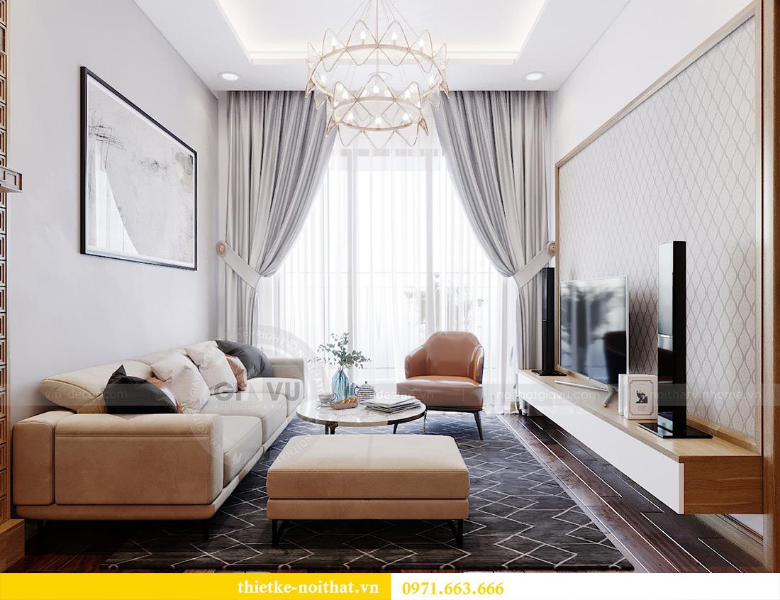 Thiết kế nội thất chung cư 789 Ngoại Giao Đoàn nhà anh Dương 6