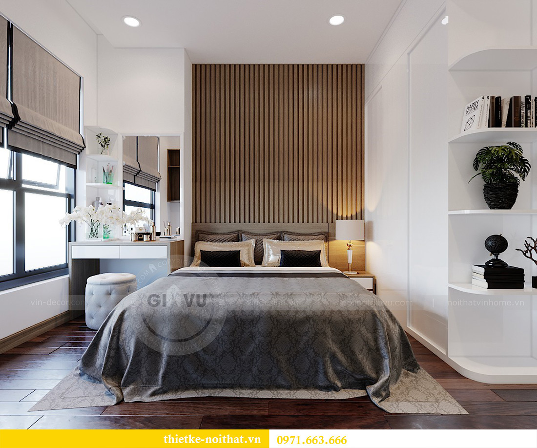 Thiết kế nội thất chung cư 789 Ngoại Giao Đoàn nhà anh Dương 7