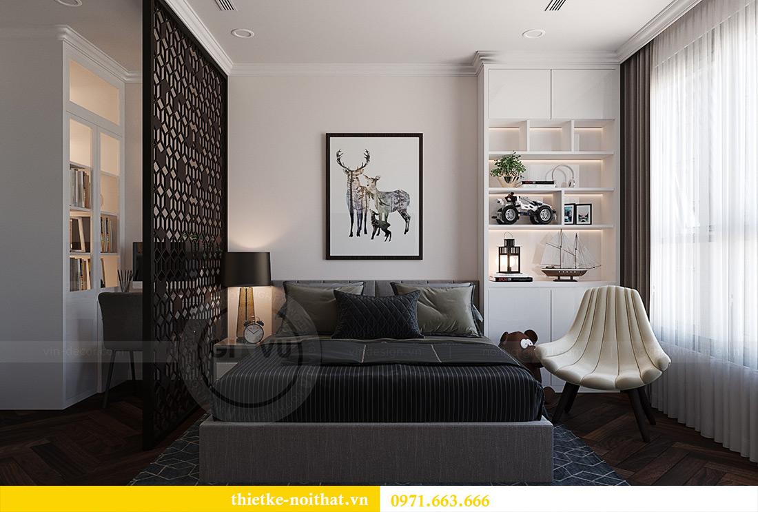Thiết kế nội thất chung cư Green Bay tòa G1 căn 06 - 08A chị Lan 10