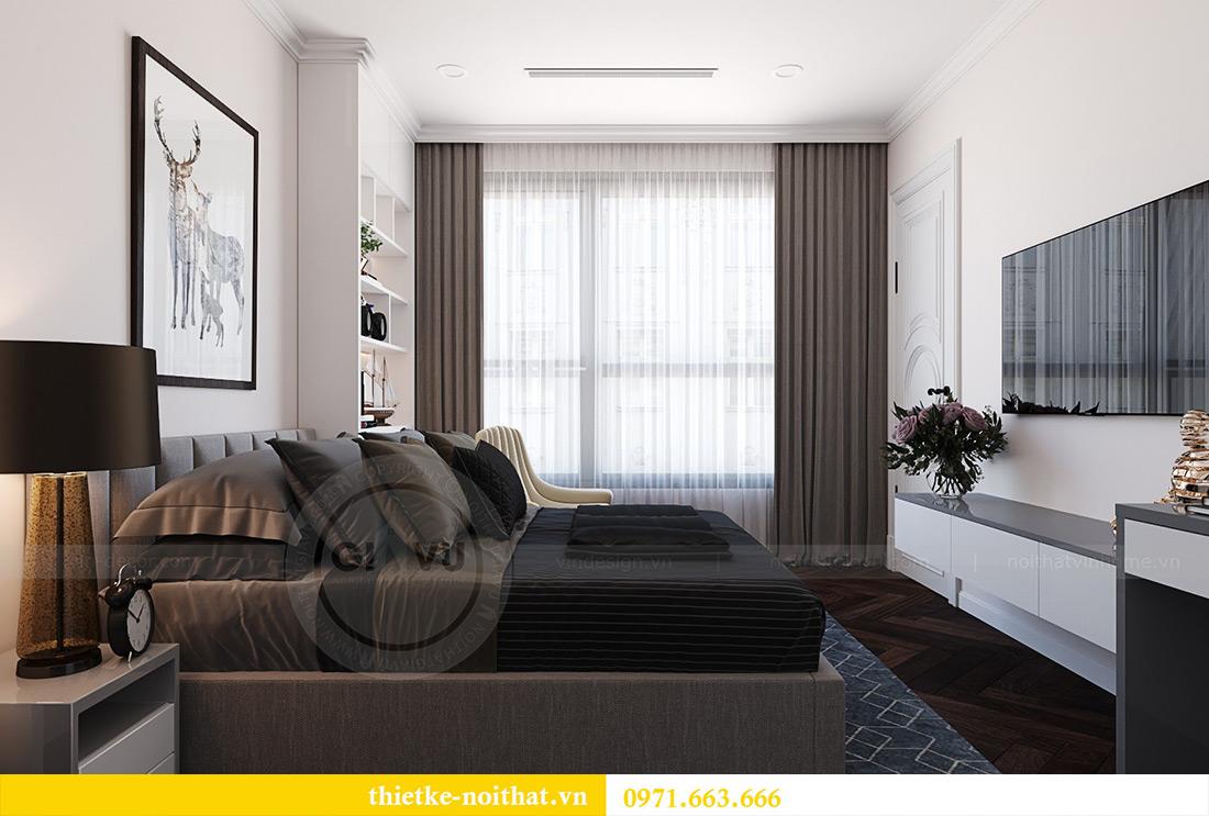 Thiết kế nội thất chung cư Green Bay tòa G1 căn 06 - 08A chị Lan 12