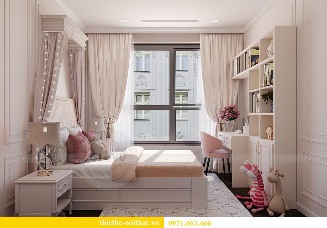 Thiết kế nội thất chung cư Green Bay tòa G1 căn 06 - 08A chị Lan 13