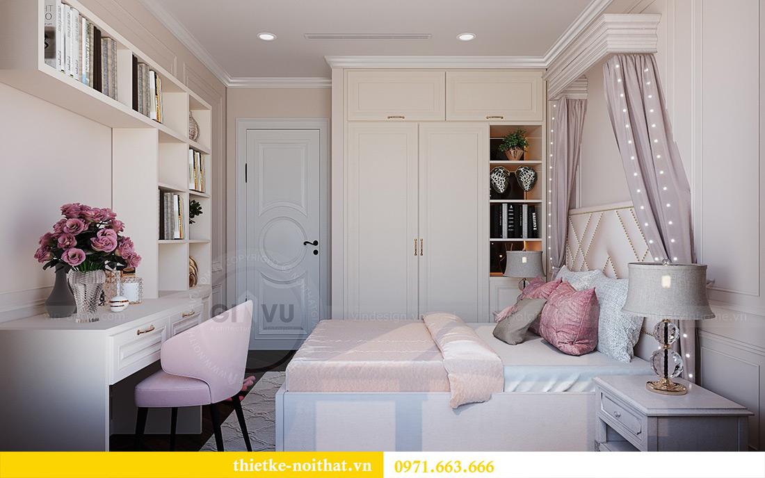 Thiết kế nội thất chung cư Green Bay tòa G1 căn 06 - 08A chị Lan 14
