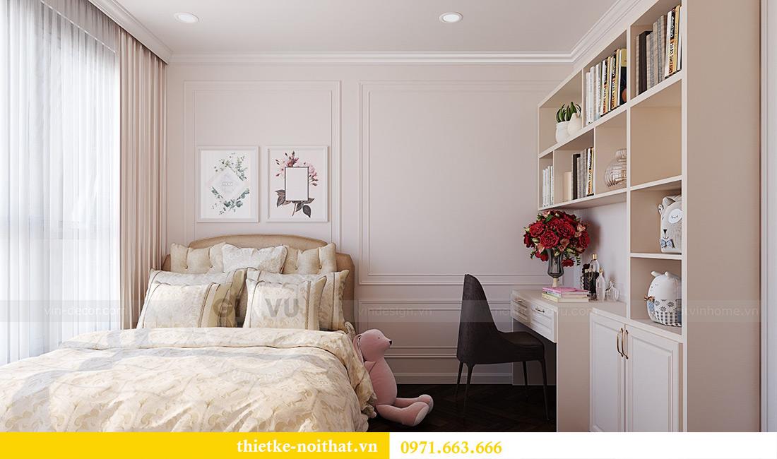Thiết kế nội thất chung cư Green Bay tòa G1 căn 06 - 08A chị Lan 15