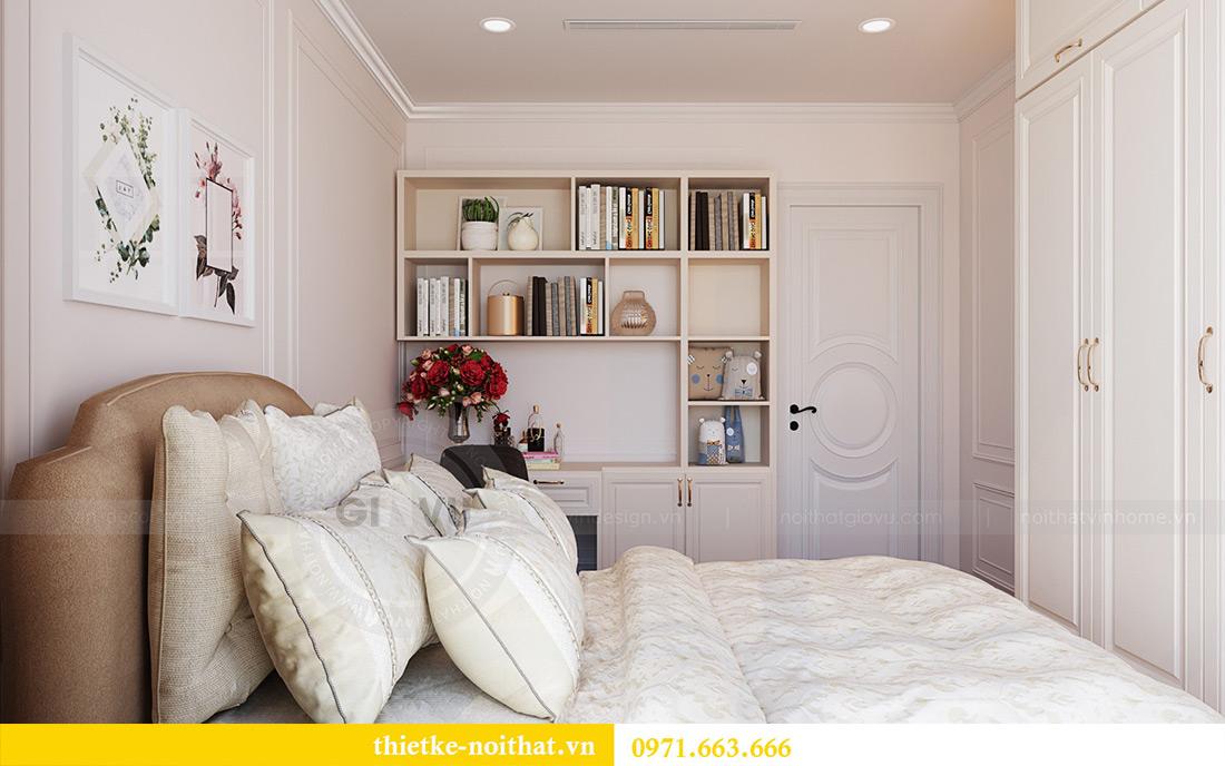 Thiết kế nội thất chung cư Green Bay tòa G1 căn 06 - 08A chị Lan 17