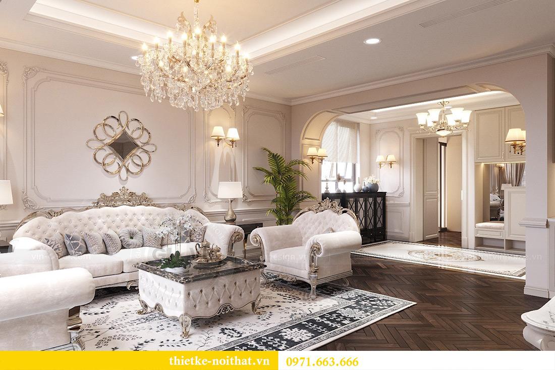 Thiết kế nội thất chung cư Green Bay tòa G1 căn 06 - 08A chị Lan 2