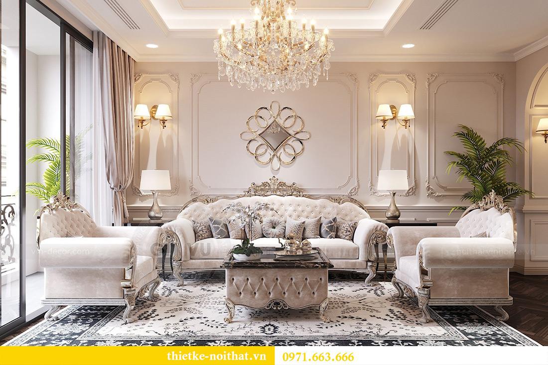 Thiết kế nội thất chung cư Green Bay tòa G1 căn 06 - 08A chị Lan 3