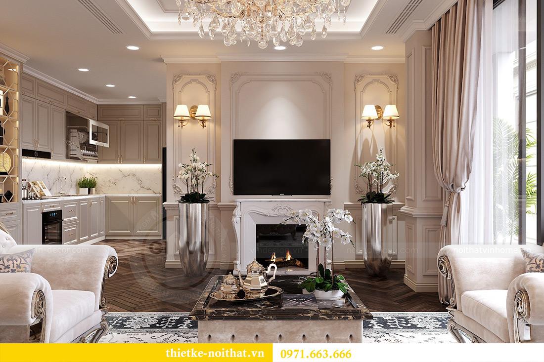 Thiết kế nội thất chung cư Green Bay tòa G1 căn 06 - 08A chị Lan 4