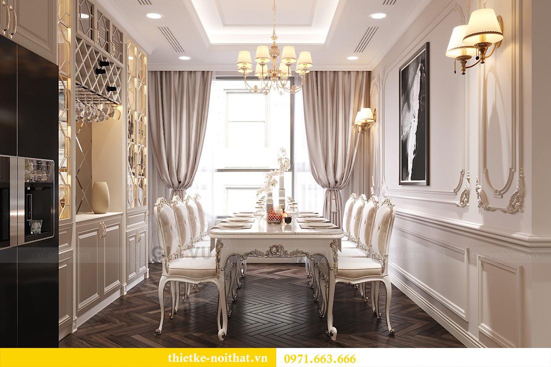 Thiết kế nội thất chung cư Green Bay tòa G1 căn 06 - 08A chị Lan 6