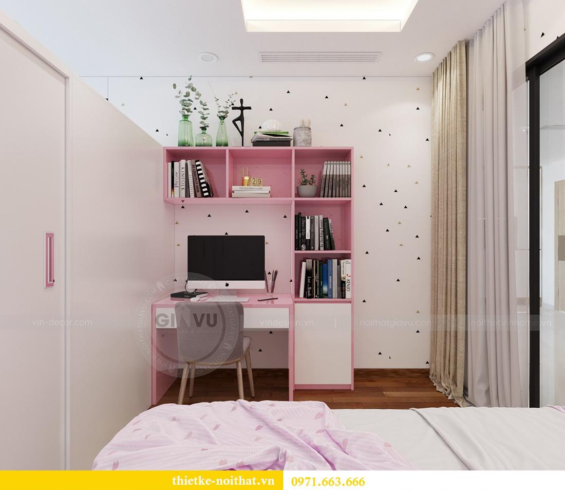 Thiết kế nội thất chung cư Mandarin Garden căn 3 ngủ nhà anh Yên 11