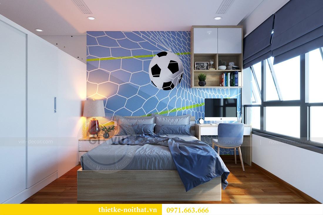 Thiết kế nội thất chung cư Mandarin Garden căn 3 ngủ nhà anh Yên 12
