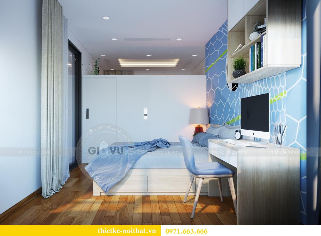 Thiết kế nội thất chung cư Mandarin Garden căn 3 ngủ nhà anh Yên 13