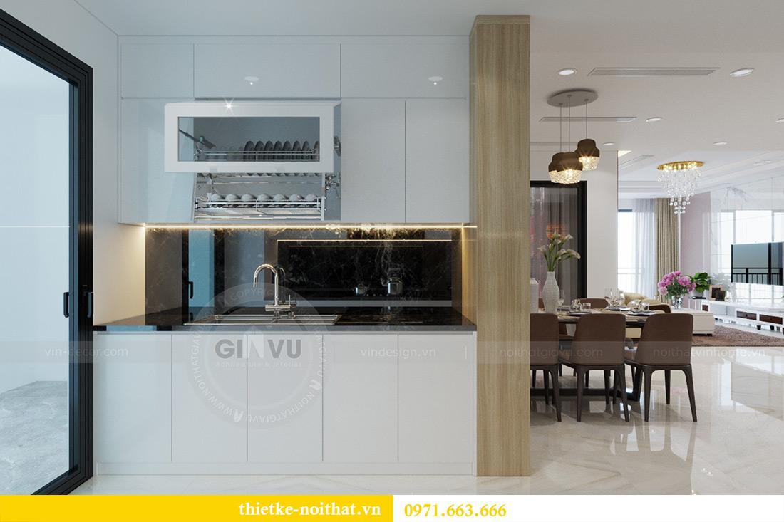 Thiết kế nội thất chung cư Mandarin Garden căn 3 ngủ nhà anh Yên 4